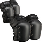 Pro-Tec Knee/Elbow Pad Set - Black