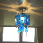 baby room light fixture - Single Shell Crystal Chandelier LED Pastoral Living Room Fixture Pendant Light