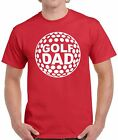 Golf Dad Shirt Top Golfing Daddy Gift for Him Golf Party Golf Day