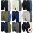Mens Chino Shorts Cotton Stretch Stallion Half Pant Casual Designer Two Pack New