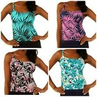 Ocean Dream Signature Faux Layer Tankini Top A223316