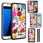 Silicone TPU Flower Case Cover for Samsung Galaxy Phone Models - DE0280