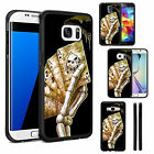 Silicone TPU Skull Case Cover for Samsung Galaxy Phone Models - DE1123