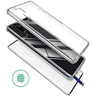 For Samsung Galaxy S8/S7 edge Clear Case Cover Tempered Glass Shockproof Hybrid