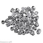 Wholesale Lots Mixed European Charm Spacer Beads  Love Heart Fit Bracelet