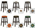 "CINCINNATI BENGALS 24"" & 28"" ESPRESSO WOOD METAL BAR MAN CAVE SHE SHED BAR STOOL"