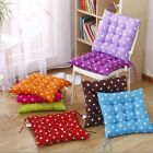 Dining Room Garden Chair Seat Pads Soft Foam Tie On Home Decor Cushions New