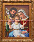 The Holy Family religious picture DIY beaded embroidery needlework kit