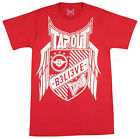 Tapout Mens Defender T-Shirt - Red/White