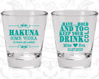 Wedding Favor Shot Glasses Shot Glass Favors (439) To Have And To Hold