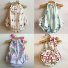 Внешний вид - Newborn Infant Baby Girl Floral Romper Bodysuit Jumpsuit Outfits Sunsuit Clothes