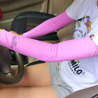 Cooling Athletic Sport Skins Arm Sleeves Sun Protective UV Cover Golf Oversleeve