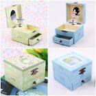 JAPAN CARTOONS WOODEN MUSICAL JEWELLERY BOX - WHEN MARNIE WAS THERE /TOTORO