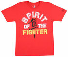 Hayabusa Mens Spirit Of The Fighter T-Shirt - Red