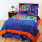 Florida Gators Bed in a Bag & Valance Twin Full Queen King Comforter Set CC