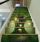 3D Tree House 351 Stair Risers Decoration Photo Mural Vinyl Decal Wallpaper AU