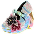 Womens Irregular Choice Aquata T-Strap Mermaid High Heels Court Shoes UK 3.5-8.5