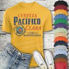 Pacifico Beer T-Shirt Custom Designed Color Worn Label Pattern image