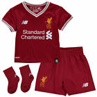 New Balance Liverpool Newborn & Infant Red 2017/18 Home Kit