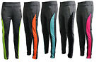 Womens Ladies Fitness Yoga Running Zip Front Leggings Gym Sports Pants Trousers