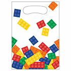 Block Brick Building Birthday Party Tableware Decorations Supplies