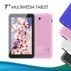 """LTC 7"""" TABLET 1024x600 HD WIFI ANDROID 5.1 DUAL CAMERA HDMI PC 8GB IPS UK STOCK New"""