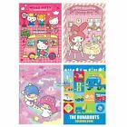 SANRIO HELLO KITTY MELODY LITTLE TWIN STARS THE RUNABOUTS COLORING BOOK 2652