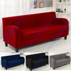 3 seat couch - 2 Piece Style 17 Colour Stretch Lounge Couch Sofa Covers Slipcover  1 2 3 4 Seat