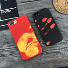 "Heat Sensitive Color Change Magic Back Case Cover For iPhone 5.5"" 6s 7plus"