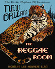New Orleans Louisiana Music Reggae Room Leopard 16X20 Poster Repro FREE SHIP USA