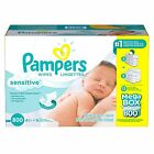 Pampers Sensitive Baby Wipes, 64, 192, 800, 1024, 2048 Count - FREE EXPEDITED