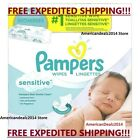 Pampers, Sensitive Baby Wipes, 64, 192, 800 and 1024-Count - FREE EXPEDITED SHIP