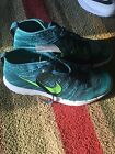 Nike Golf Flyknit Chukka Shoes - Teal - NEW