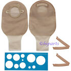 Ostomy Colostomy Stoma Drainable Pouch Bag Skin Barrier Cut to Fit 2-PCS System