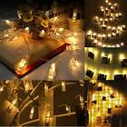 10/20/40 Warm White Photo Clip Peg LED String Light Fairy Wedding Xmas Party Dec