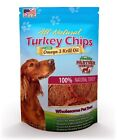 Turkey Chips Pet Treats by Health Partner with Omega 3 Krill Oil