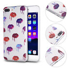 Ultra Slim Soft TPU Back Case Cover For iPhone 7 7 Plus 6s 6s Plus Lips Pattern