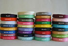 "Wholesale Grosgrain Ribbon lot 1/4"" 5 yards you pick color for hair bow"