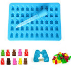 Silicone 50 Cavity Gummy Bear Chocolate Mold Candy Maker Ice Tray Jelly Mould US