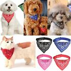 ADJUSTABLE PET DOG PUPPY CAT NECK SCARF BANDANA WITH COLLAR NECKERCHIEF BUCKLE