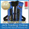 "2 x AXIS OFFSHORE ""PRO"" BLACK MANUAL INFLATABLE PFD1 LIFE JACKET 150N Lifejacket"