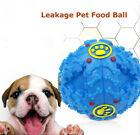Squeaky Giggle Quack Sound Training Dogs Ball Food Dispenser Durable Toys