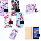 Pattern For Sony Xperia M2/M4/Z3 Stand PU Flip Cards Wallet Leather Case Cover
