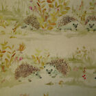 Voyage Mr & Mrs Hedgehog Designer Curtain Fabric 140 cm wide - £29.50mt