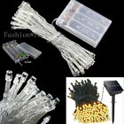 200LED Solar String Lights Home Garden Party Deco Fairy Lightings 12-22m