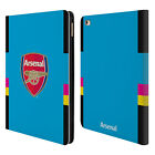 OFFICIAL ARSENAL FC 2016/17 CREST KIT LEATHER BOOK WALLET CASE FOR APPLE iPAD
