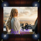 Emilia Clarke Game Of Thrones Signed Autographed Framed Photo/Canvas Print