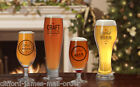 Craft Beer Glasses Logo 2 Pint 2 Half Pint Brewery Ale Cider Larger Glass 4 Pack <br/> 12 Month Guarantee - Free Delivery - 30 Day Returns