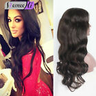 Brazilian Human Hair Big Curly Wavy Lace Front Full Curly Wig With Baby Hair