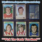 ☆ A&BC 1973 Blue Back 1st Series (FAIR 1 to 131) *Pick The Cards You Need*